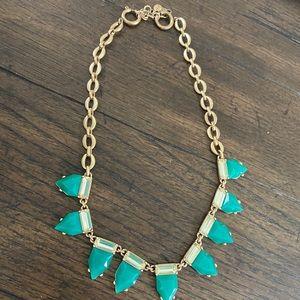 Stella & Dot Emerald Eye Candy Necklace